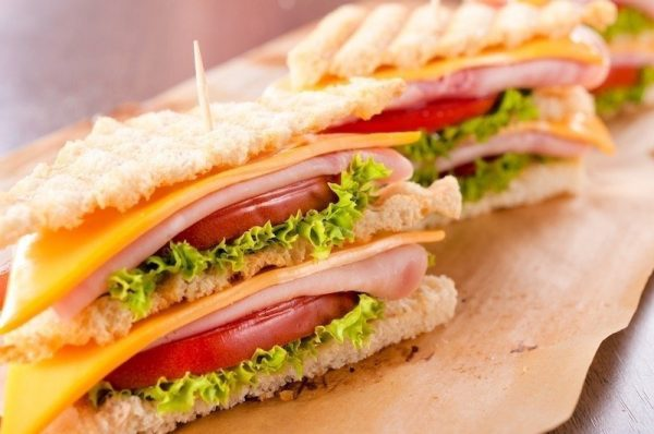 Top Table MEAT SANDWICHES