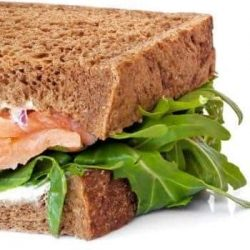 Smoked Salmon Sandwich